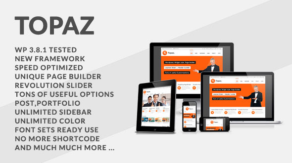 Topaz – Multi-Purpose Premium WordPress Theme