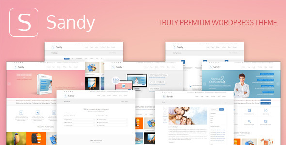 Sandy – Truly Premium WordPress Theme