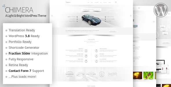 Chimera – A Light, Bright WordPress Theme