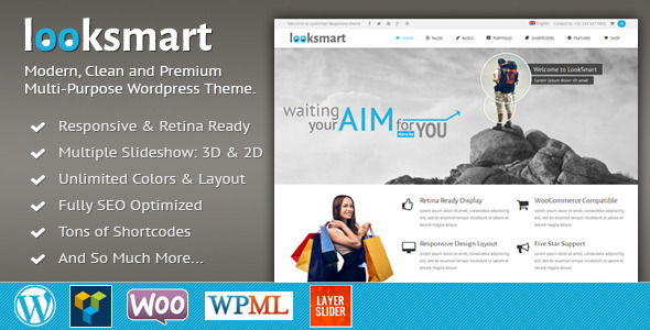 LookSmart – Retina Responsive WordPress Theme