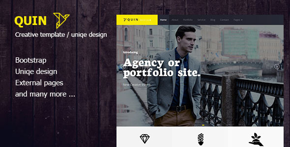 Quins – BS Creative WordPress Themes