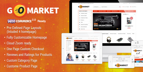 WooCommerce Supermarket Theme – GoMarket