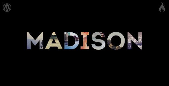 Madison – Responsive Portfolio WordPress Theme