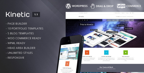 Kinetic – Multipurpose Responsive Theme