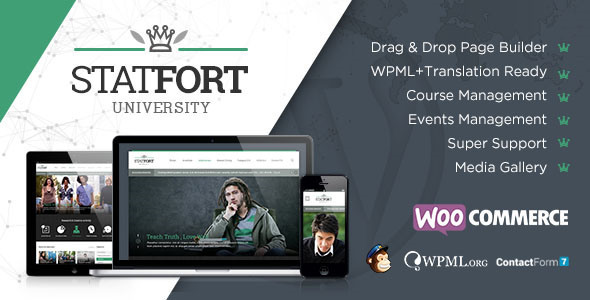 Statfort – Educational WordPress Theme