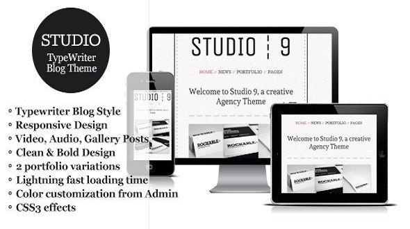 Studio 9 – a Creative Agency Portfolio