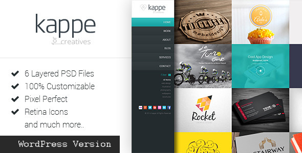 Kappe – Full Screen Portfolio & Blog WP Theme