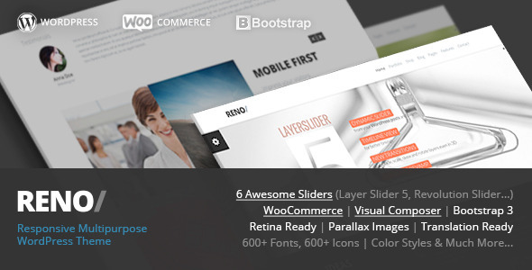 Reno – MultiPurpose WordPress WooCommerce Theme