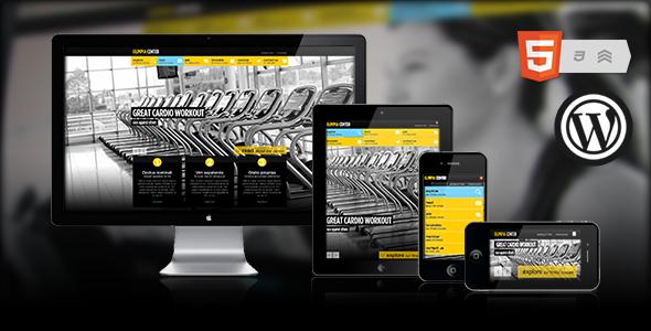 Olimpia   Fullscreen WordPress Fitness Center