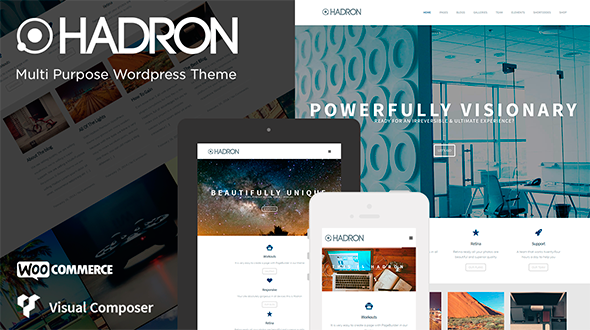 Hadron – Multi Purpose WordPress Theme