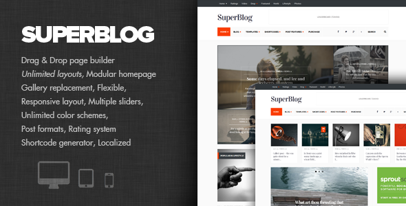 SuperBlog – Powerful Blog & Magazine Theme