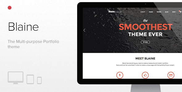 Blaine – The Multipurpose Portfolio theme