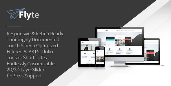 Flyte | Premium Multi-Purpose WordPress Theme