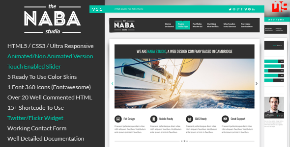 Naba: Multipurpose Business WordPress Theme