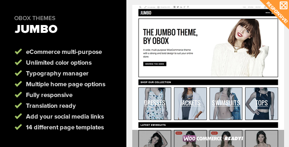 Jumbo – Multi-Purpose WooCommerce Theme