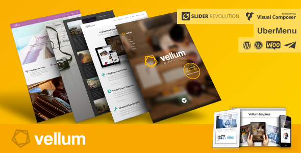 Vellum – Responsive WordPress Theme