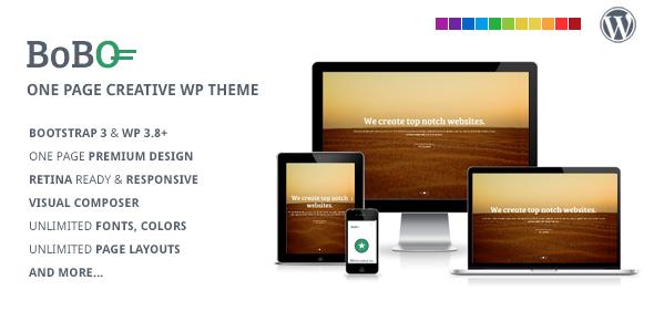Bobo – One Page Multifunctional WP Theme