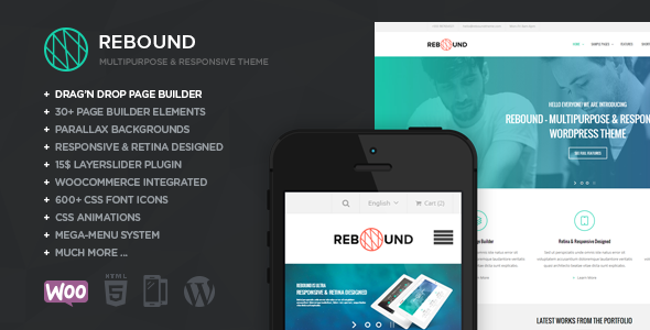 Rebound – Responsive Multipurpose Retina Theme