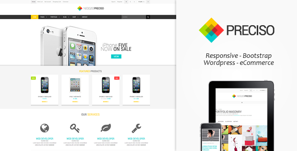 Preciso – Responsive E-Commerce Theme