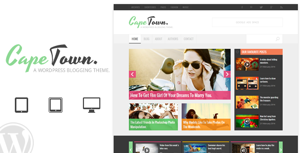 Cape Town – Blogging Theme