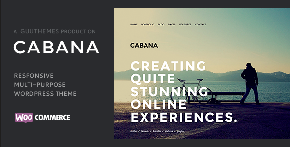 Cabana – Responsive Creative WordPress Theme