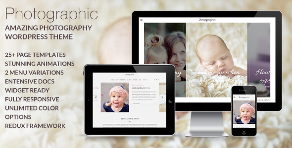 Photographic – Premium Photography WordPress Theme