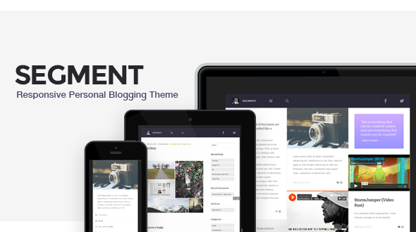 Segment – Responsive Personal Blogging Theme