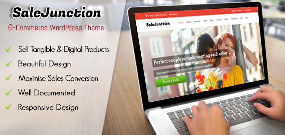 SaleJunction E-Commerce WordPress Theme
