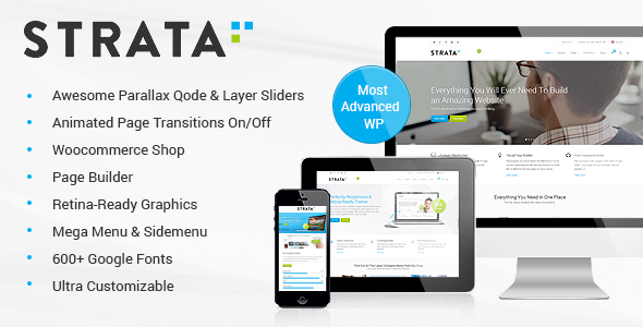 Strata – Professional Multi-Purpose Theme