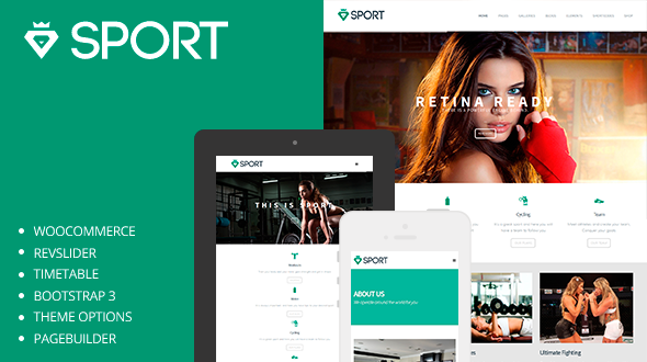 Sport – Multi Purpose Sportive WordPress Theme