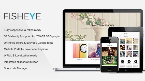 Fisheye | Responsive Multi-Purpose Theme