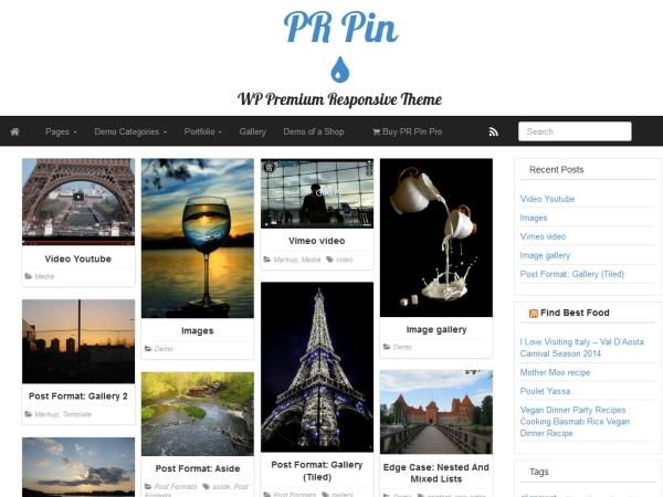 PR Pin