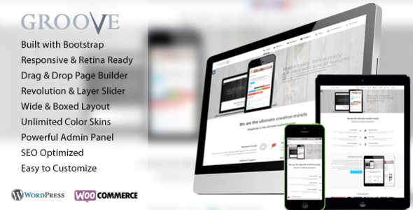 Groove – Retina Responsive Multi-Purpose WP Theme
