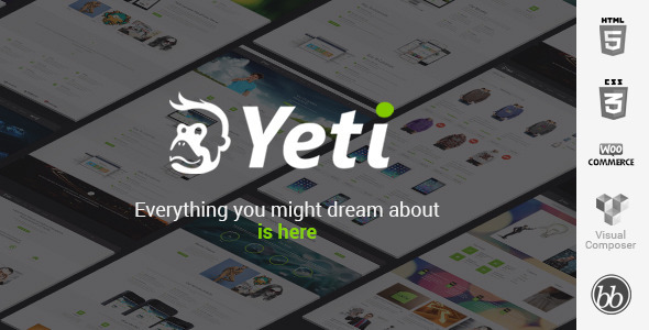 Yeti – Responsive Ultimate Theme