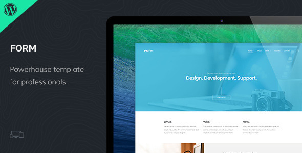 Form – Responsive WordPress Theme