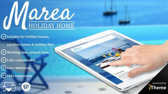 Marea – Holiday & Travel WordPress Theme