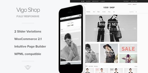 VigoShop – Elite Responsive WooCommerce Theme
