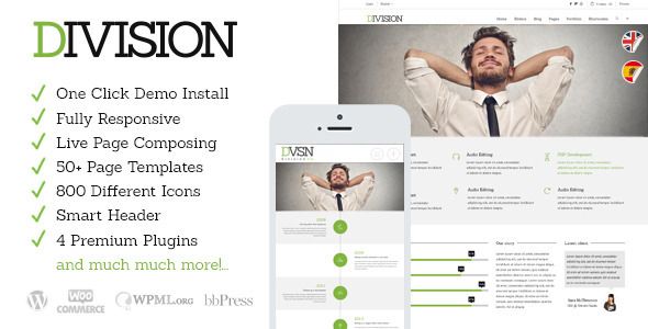 Division – Responsive Multi-Purpose Theme