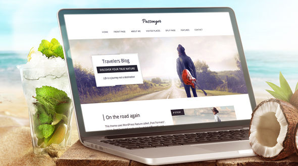 Passenger – Travelers WordPress Theme