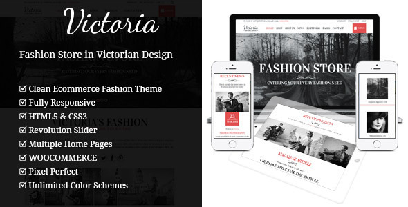 Victoria – Fashion WooCommerce WordPress Theme