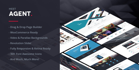 Agent | A Creative Multi-Purpose WordPress Theme