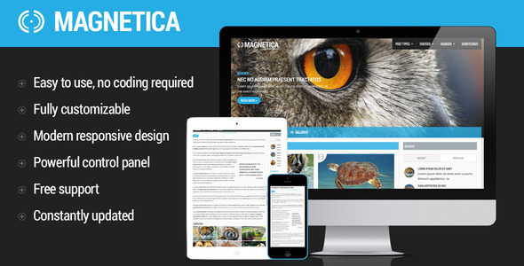 Magnetica | WordPress Magazine and Blog Theme