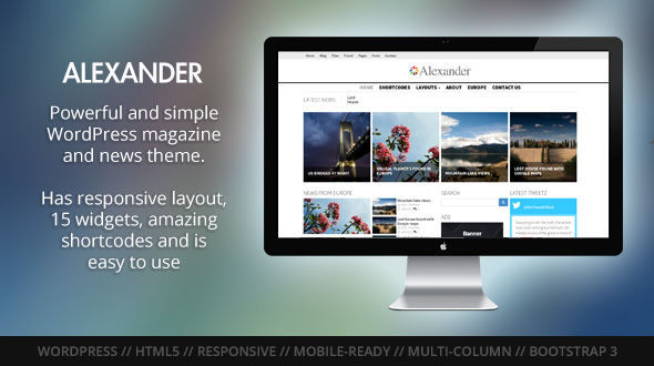Alexander WordPress Theme