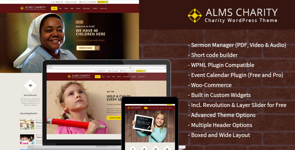 Alms – Church & Multipurpose Responsive Theme