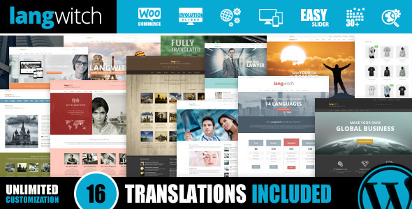 Langwitch: Responsive Multi-Purpose & Translated