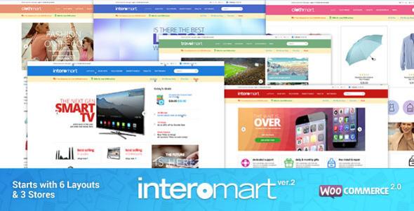 WooCommerce Responsive Theme – Computer