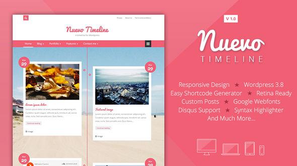 Nuevo Timeline – A Timeline for WordPress