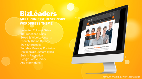 Biz Leaders – MultiPurpose WordPress Theme