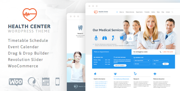 Health Center – Responsive Medical Theme