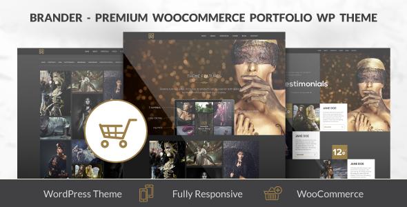 Brander – Premium WooCommerce Portfolio WP Theme